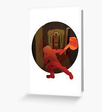 Fire Temple Greeting Card