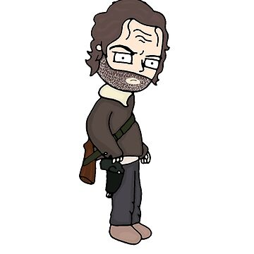 The Walking Dead, Stuff and Thangs, Rick grimes, Stuff and things, meme by kaylieghkartoon