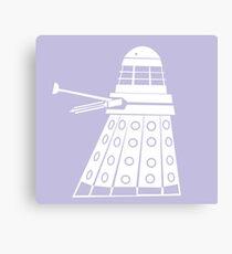 Dalek- Doctor who  Canvas Print