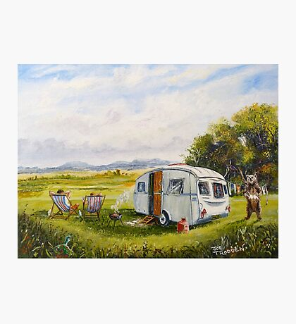 Caravan peril Photographic Print