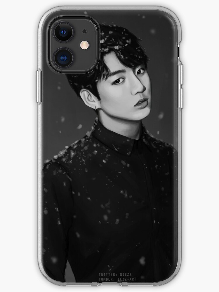 Snowy Jungkook iphone case