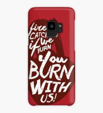 Hunger Games Quote Case/Skin for Samsung Galaxy
