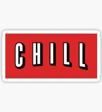 Netflix & Chill Sticker