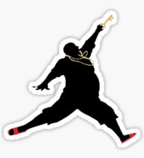 DJ Khaled Key to Success - Jordan (Black) Sticker