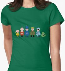 Bod and friends Womens Fitted T-Shirt
