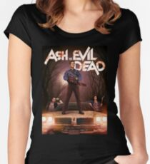 Ash vs Evil dead tv series Women's Fitted Scoop T-Shirt