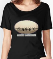 Ghost Squadron B-29 Bomber Women's Relaxed Fit T-Shirt