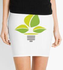 Eco Lightbulb Mini Skirt