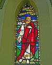 Albert Street Uniting Church, Brisbane , window 5  by Margaret  Hyde