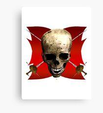 A Symbol Of Piracy Canvas Print