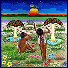apple-emergence in paradise - drosera weisse by fuxart