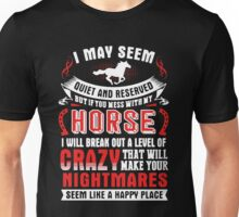 Don't Mess With My Horse Unisex T-Shirt