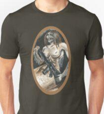 Mermaid with Rifle T-Shirt