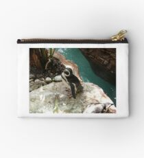 """""""Back-footed Penguin"""" by Carter L. Shepard""""  Studio Pouch"""