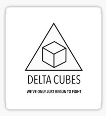 Community - Delta Cubes Sticker