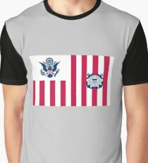 Ensign der US-Küstenwache Grafik T-Shirt