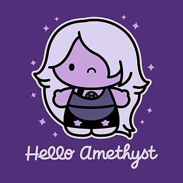 Hello Amethyst by theartofm