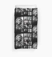 Blake Lively black and white Duvet Cover
