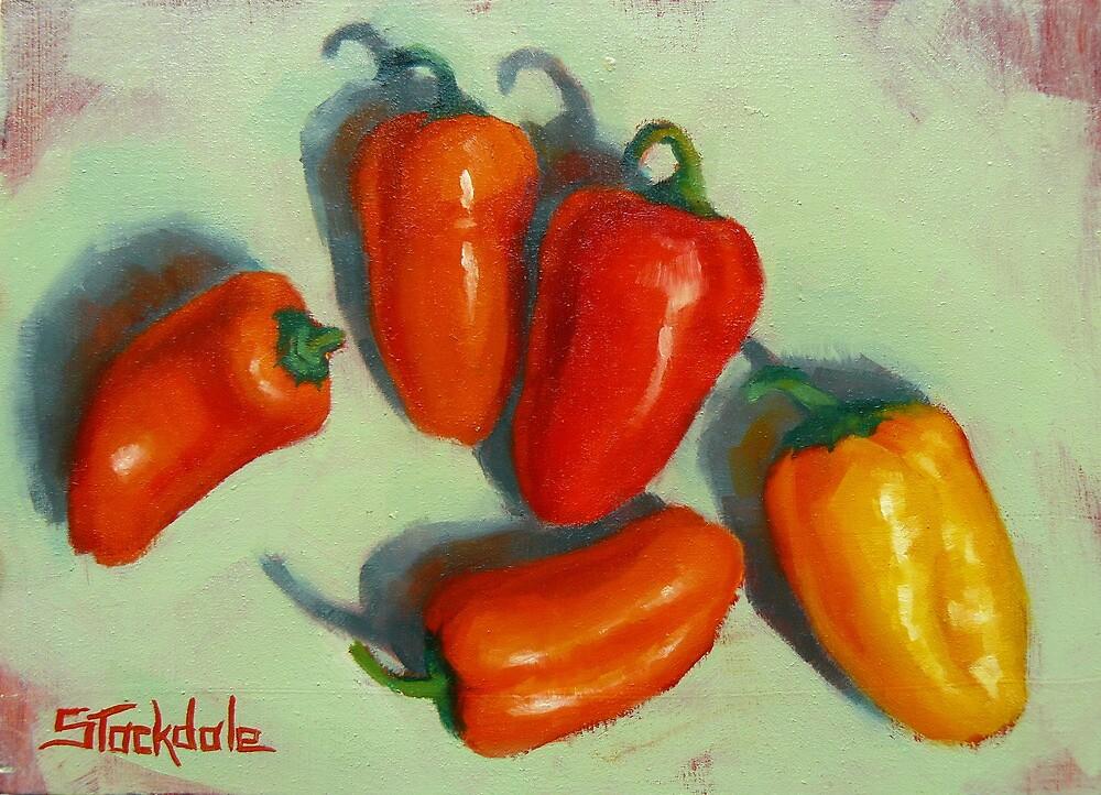 Petite Peppers by Margaret Stockdale