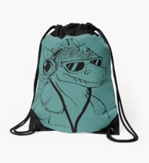 Retro Podzilla 1985 Drawstring Bag