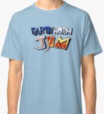 Earthworm Jim Logo Classic T-Shirt