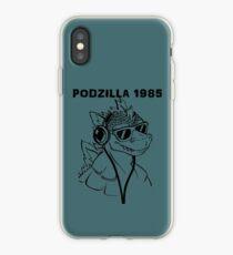 Podzilla 1985 Retro  iPhone Case