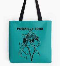 Podzilla 1985 Retro  Tote Bag