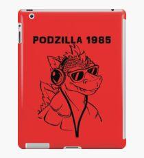 Podzilla 1985 Retro  iPad Case/Skin