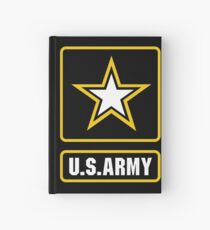 US Army Logo Hardcover Journal