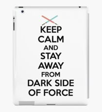 Keep Calm Dark Side iPad Case/Skin