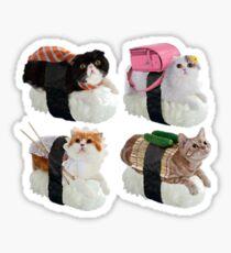 Pegatina Sushi Cat