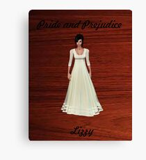 Lizzy Bennet from Pride and Prejudice Canvas Print