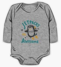 Jetpacks are Awesome One Piece - Long Sleeve