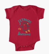Jetpacks are Awesome One Piece - Short Sleeve