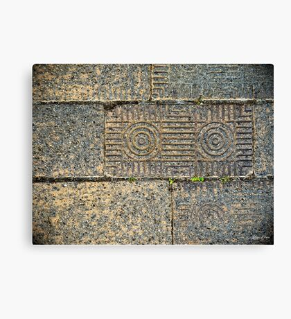 Corinth Brick Canvas Print