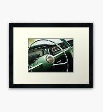 Elegant Steering - Coupe deVille Framed Print