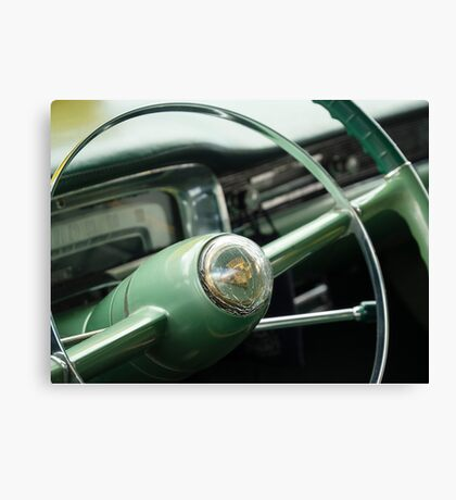 Elegant Steering - Coupe deVille Canvas Print