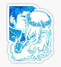 Blue Seas Sticker