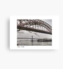 Astoria Bridges Canvas Print
