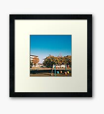 Neighborhood Playground Framed Print
