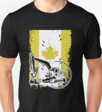 Heavy Equipment Operator In Canada T-Shirt