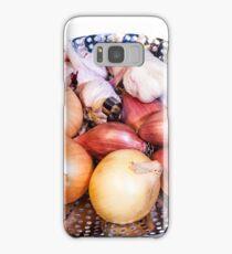 onion, shallot, garlic Samsung Galaxy Case/Skin