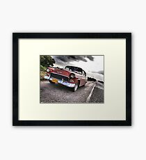 Chevy on the CD Framed Print