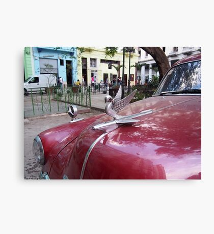 Havana Hood Ornament Canvas Print