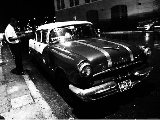Havana Taxi Driver by ponycargirl
