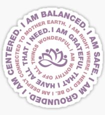 Yoga Motivational Sticker