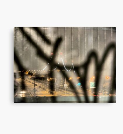 Astoria Graffiti Canvas Print