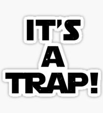 Star Wars - It's A Trap! Sticker