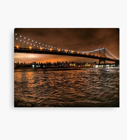 The Triborough and the Skyline Canvas Print