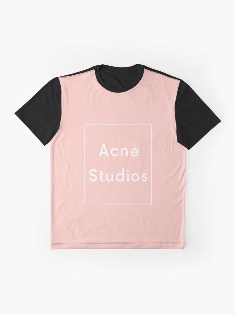 Alternative Ansicht von Akne-Studios Grafik T-Shirt